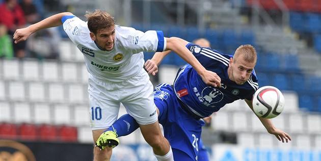 Olomouc – Zlín 1: 1, kampen for de nybegynnere endte med uavgjort