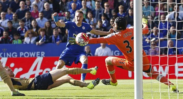 Bøhmen fikk to mål, men Arsenal vant høyt. Ledet av United