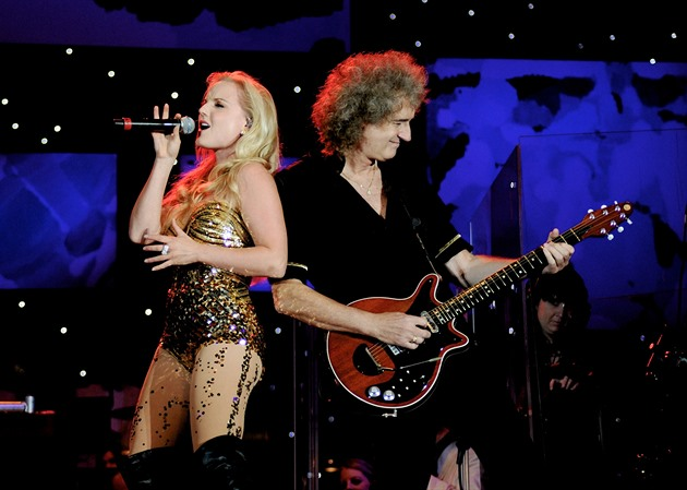 Kerry Ellisová a Brian May