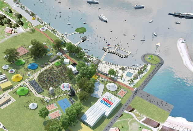 Rio 2016 i Tsjekkia: Den olympiske parken vil bli opprettet i august på Lipno-dammen