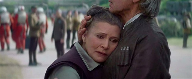 Star Wars: The Force Awakens, Princezna Leia