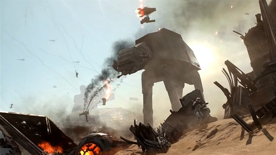Star Wars Battlefront: Battle of Jakku upoutávka