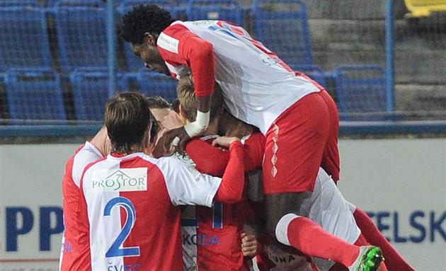 Slavia témoigne quand elle est invitée. Outside Pilsen est le meilleur de la ligue