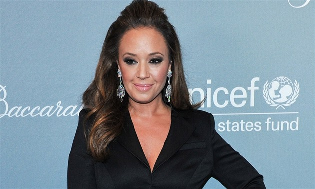 Leah Remini (Los Angeles, 14. ledna 2014)