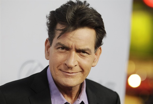 Charlie Sheen (Los Angeles, 11. dubna 2013)