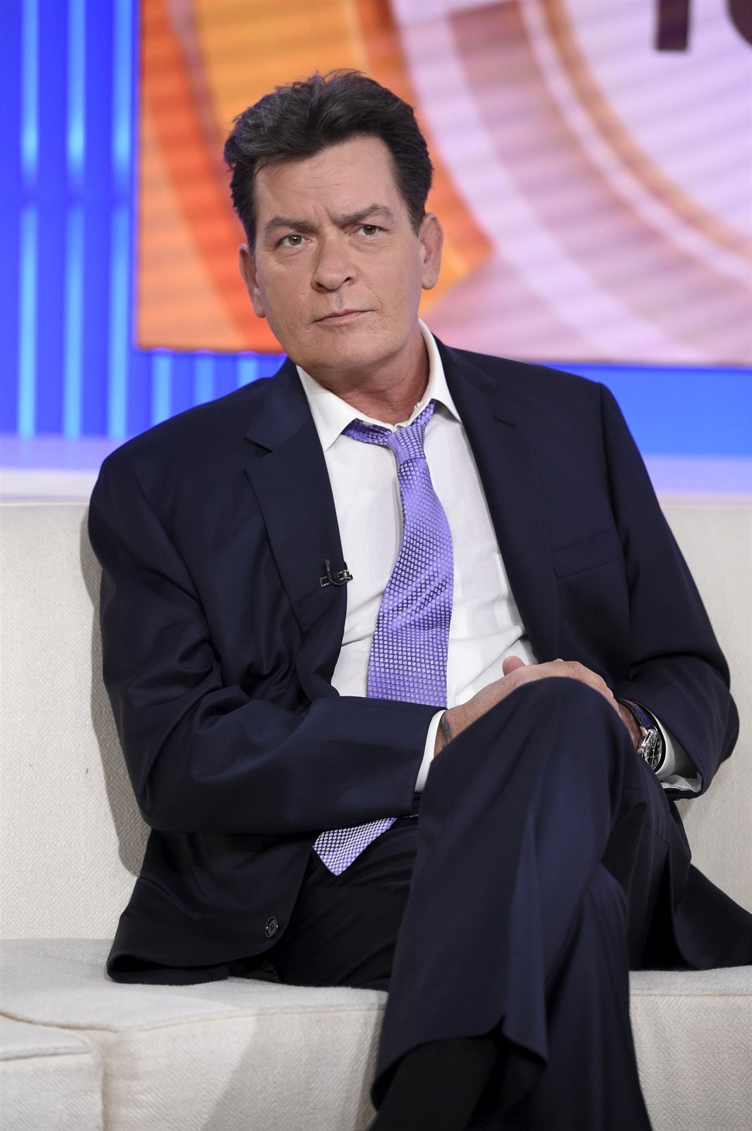 Charlie Sheen (New York, 17. listopadu 2015)