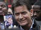 Charlie Sheen (New York, 14. ledna 2013)