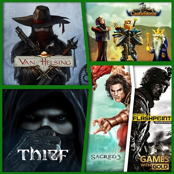 Games with GOLD - prosinec 2015