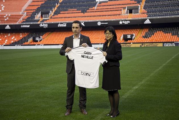 Der Experte von Neville ist der Trainer von Valencia. Ich selbst wäre skeptisch, gab er zu