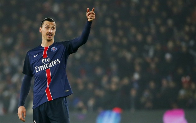 Zlatan Ibrahimovic z Paris St. Germain