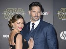 Sofia Vergara a Joe Manganiello (Los Angeles, 14. prosince 2015)