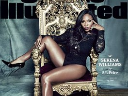 Serena Williamsová na obálce magazínu Sports Illustrated