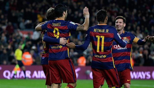 Barcelona führt weiterhin die spanische Liga, und die Rivalen von Madrid haben nicht gezögert