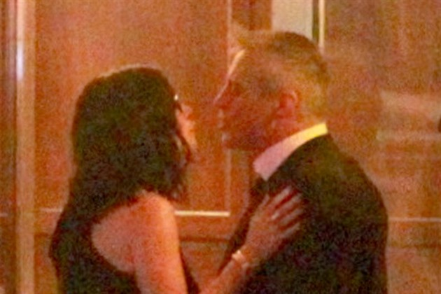 Courteney Coxová a Matt LeBlanc (Los Angeles, 24.. ledna 2016)