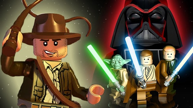 Indiana Jones v Lego Star Wars