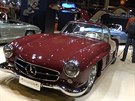 Mercedes 300 SL Gullwing na výstavě Retromobile