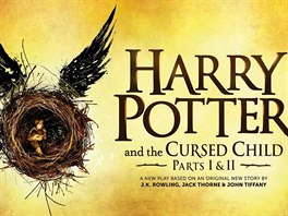 Oficiální plakát ke hře a knize Harry Potter and the Cursed Child