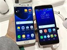 Samsung Galaxy S7 edge a Alcatel Idol 4s