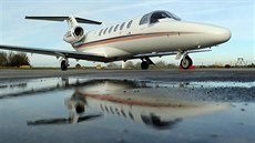 Cessna 525A Citation (ilustra�ní foto).