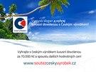 Český výrobek vyhlašuje soutěž o luxusní zájezd