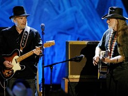 Merle Haggard a Willie Nelson