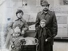 An undated family photograph shows Nikolay Chernyavskiy and his wife Tatyana...