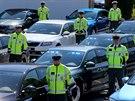 Policie převzala dalších 35 octavií pro dohled nad provozem na silnicích nižších tříd. Vozy nejsou označené.