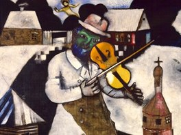 Marc Chagall: Houslista (1912)