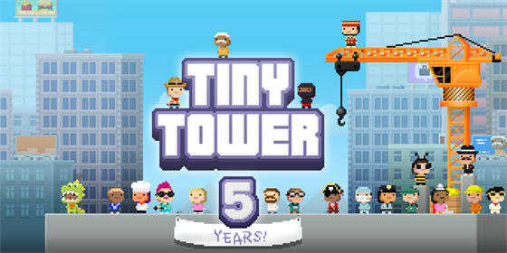 Tiny Tower slav� p�t let