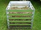 Vysoce kvalitní žárově zinkované kompostéry mají dlouhou životnost