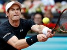 Brit Andy Murray ve fin�le turnaje na madridsk� antuce.