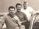 Na fotografii z roku 1967 jsou zleva Alois Mark, Stanislav Hajdušek a Adolf Veřmiřovský.