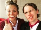 Kaley Cuoco a Karl Cook