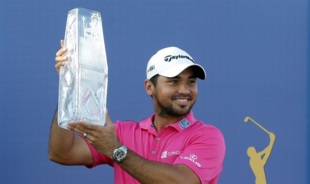 Jason Day jako vítěz The Players Championship