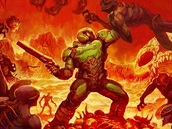 DOOM (2016) - alternativn� obal B