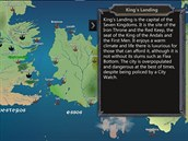 Map for Game of Thrones bude va��m pr�vodcem po Z�padozem�.
