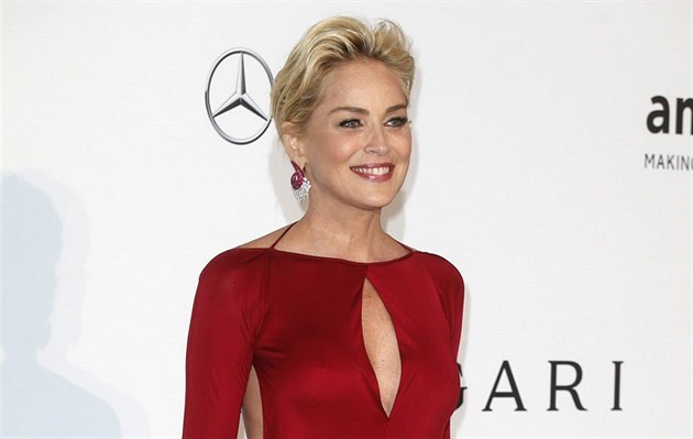 Sharon Stone (Cannes, 22. kv�tna 2014)