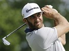 Dustin Johnson na turnaji Memorial v americk�m Dublinu.
