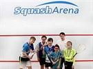 Skvělým sportem pro vaše dítě může být squash. Nevěříte?