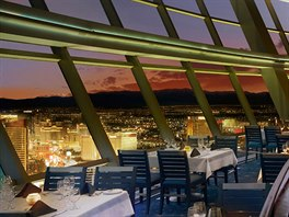 Restaurace Top of the World (Nevada, USA)