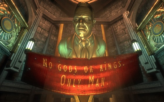 Obr�zek BioShocku z remasterovan�ho balen� BioShock Collection