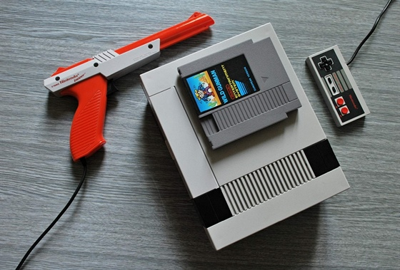 NES s pistolí Light Gun