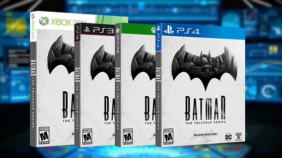 Obal hry Batman: The Telltale Series
