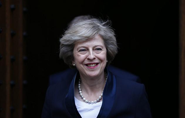 Nadcházející britská premiérka Theresa Mayová (11. července 2016)