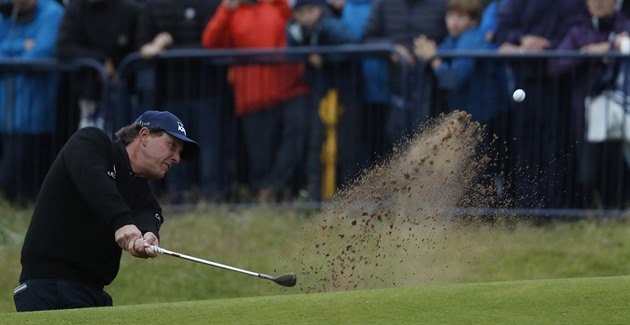 Phil Mickelson ve 3. kole British Open
