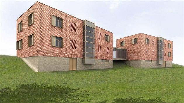 Vizualizace přestavby dvou baťovskıch domků na zlínské Letné