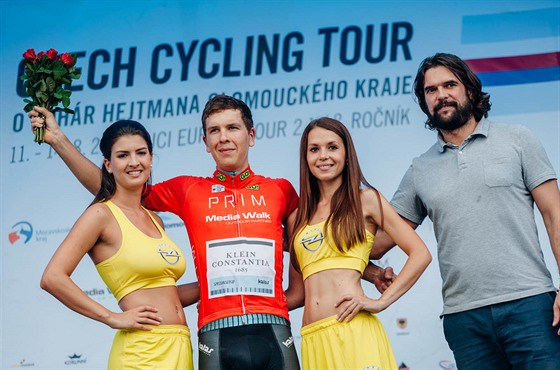 Michal Schlegel vyhr�l na Czech Cycling Tour kategorii do 23 let.