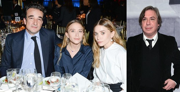 Olivier Sarkozy, Mary-Kate a Ashley Olsenovy a George Combo