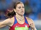 Překážkářka Zuzana Hejnová doběhla v semifinálovém závodě na 400 metrů první a s přehledem postoupila do finále. (17. srpna 2016)