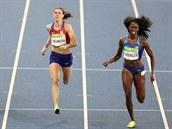 Překážkářka Zuzana Hejnová v olympijském finále skončila čtvrtá. (19. srpna 2016)